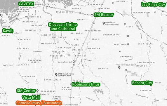 Bucandala Property Vicinity Map