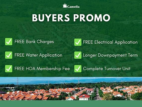 Promo for Camella Bucandala.